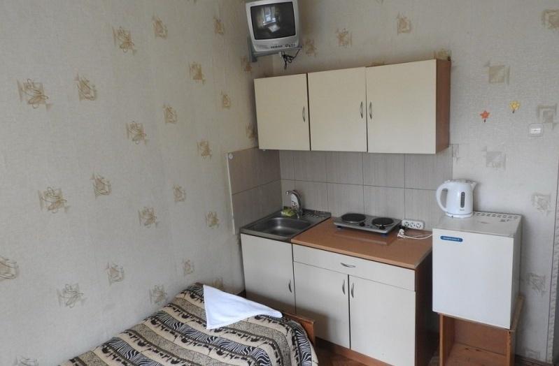 База отдыха «Онега» Ленинградская область Номер «Эконом» 2-местный с кухней (корпус «Балтика»), фото 3