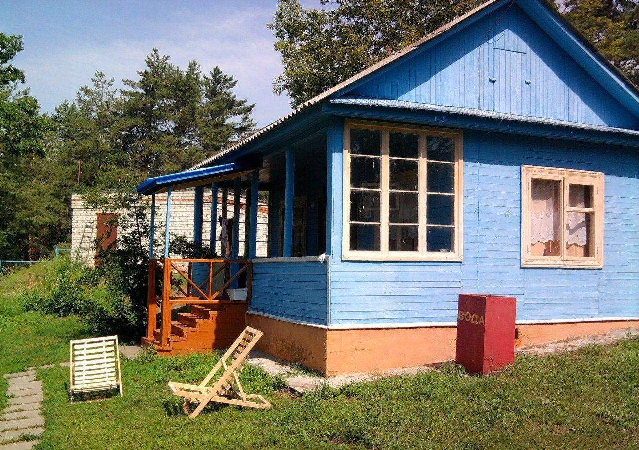 Турбаза «Голубые огни» Ульяновская область 6-местный домик, фото 1