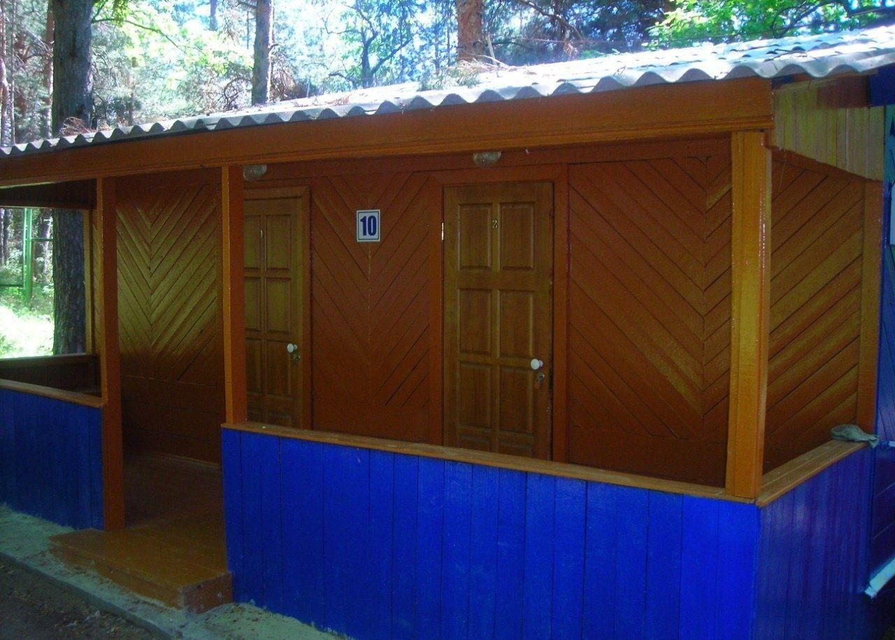 Турбаза «Голубые огни» Ульяновская область 4-местный домик, фото 1