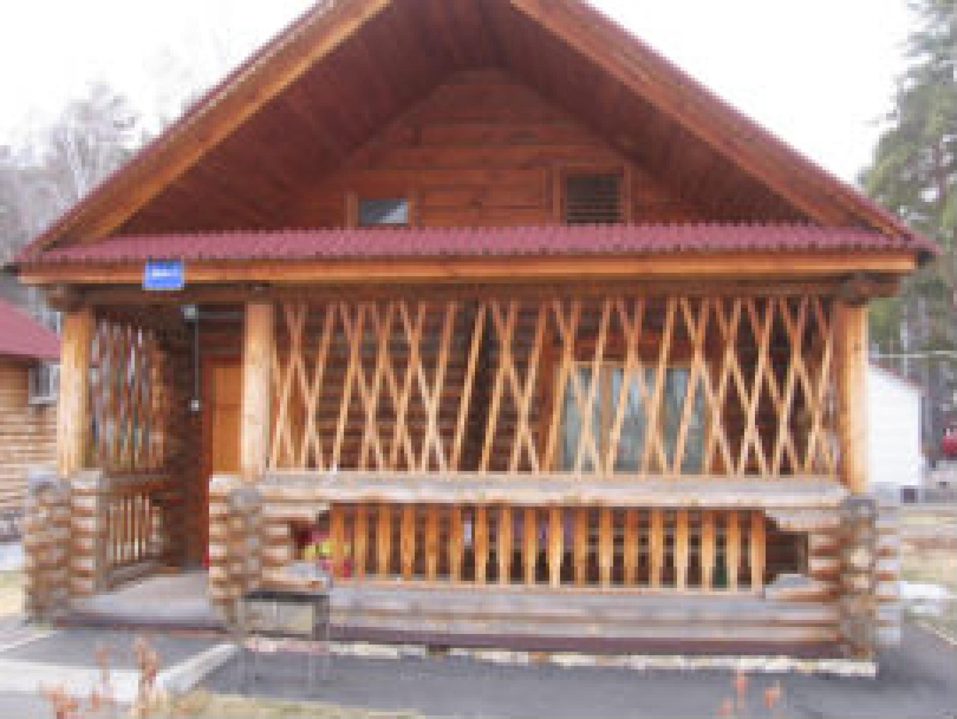 База отдыха им. Стрельникова Омская область Рубленый дом №2, фото 1