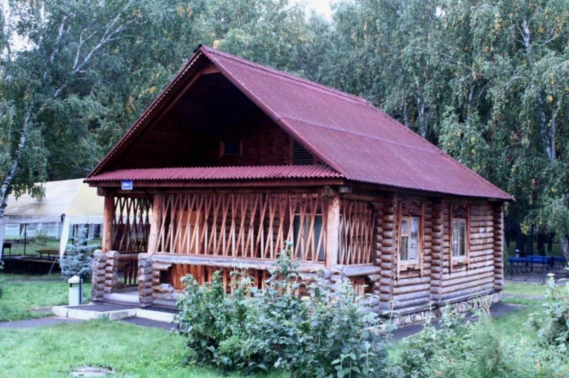 База отдыха им. Стрельникова Омская область Рубленый дом №1, фото 1