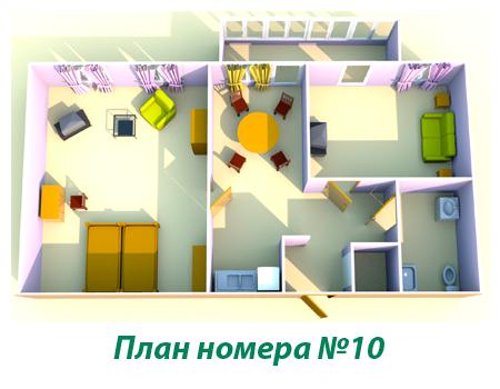 """Туристический комплекс """"Звёздный"""" Самарская область Номер VIP (№10), фото 2"""