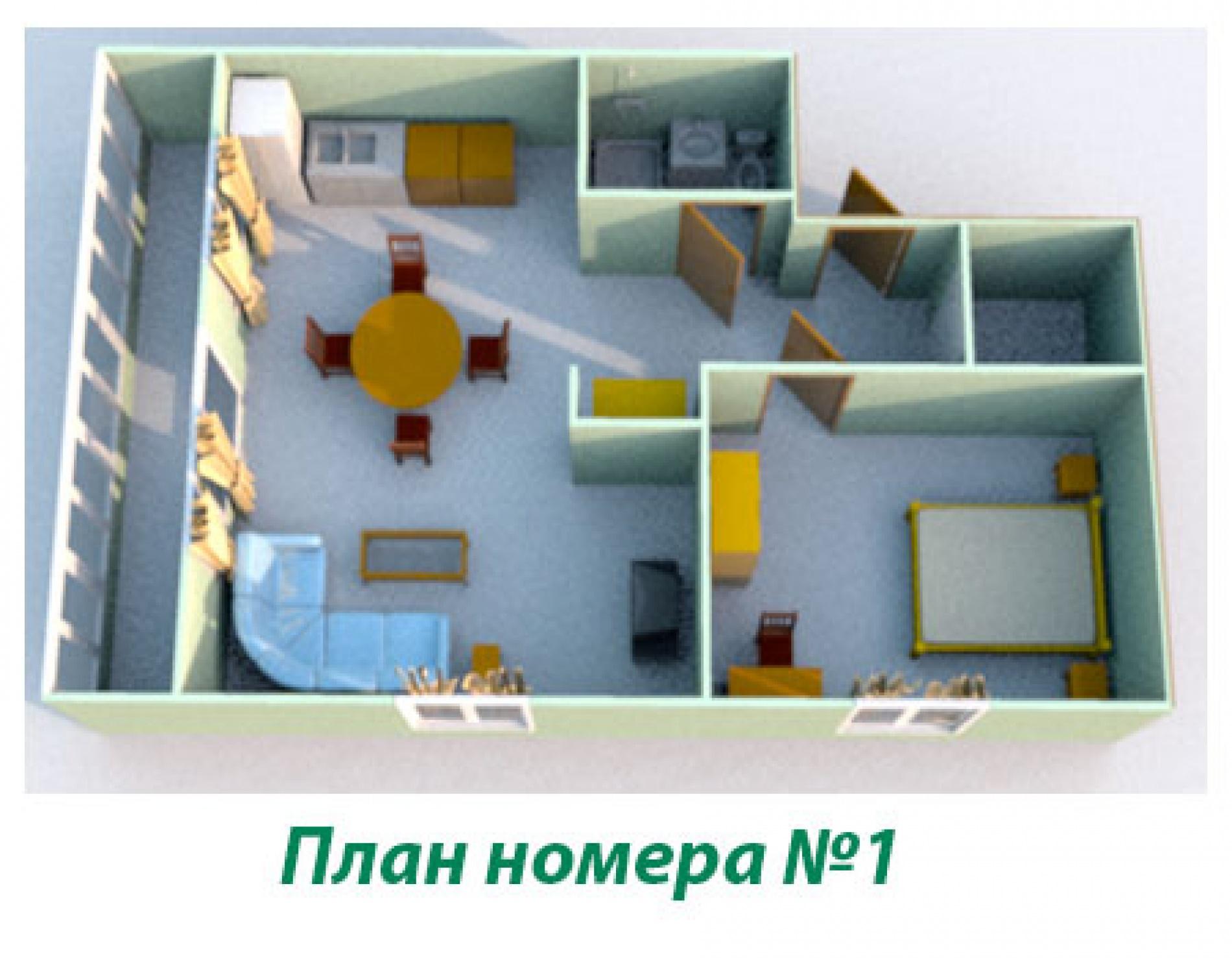 """Туристический комплекс """"Звёздный"""" Самарская область Номер LUX (№1, №2, №3 №6 и №12), фото 10"""