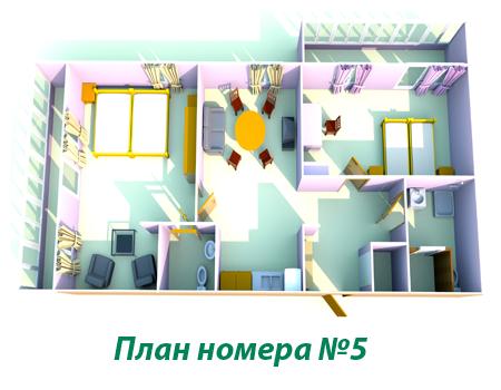"""Туристический комплекс """"Звёздный"""" Самарская область Номер VIP (№5), фото 17"""