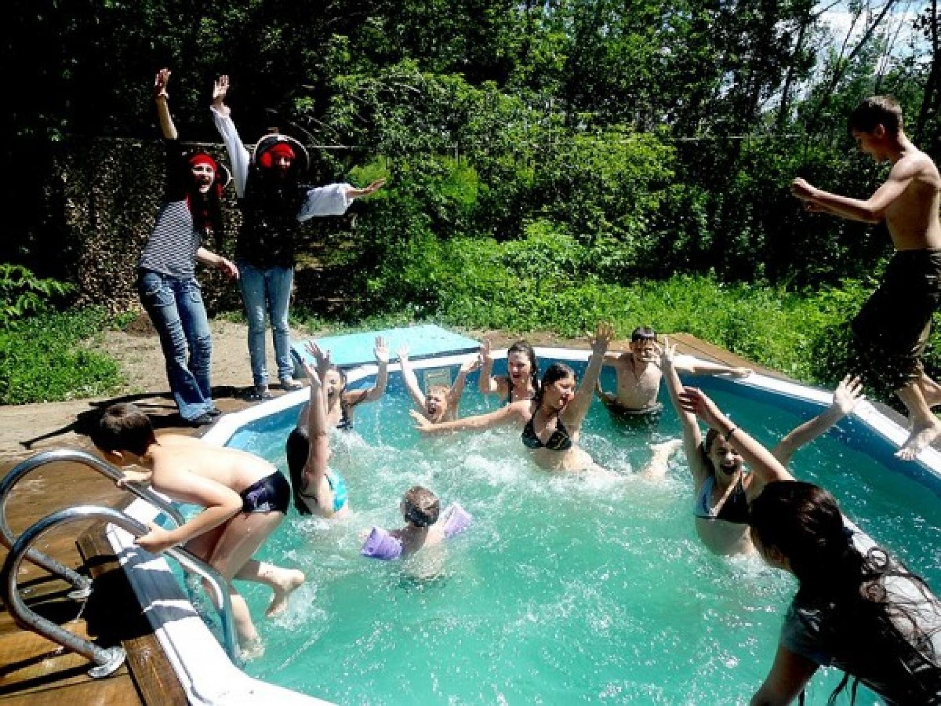 """База отдыха """"Усадьба на Микутке"""" Оренбургская область Дом (средний) с беседкой и летним бассейном, фото 8"""