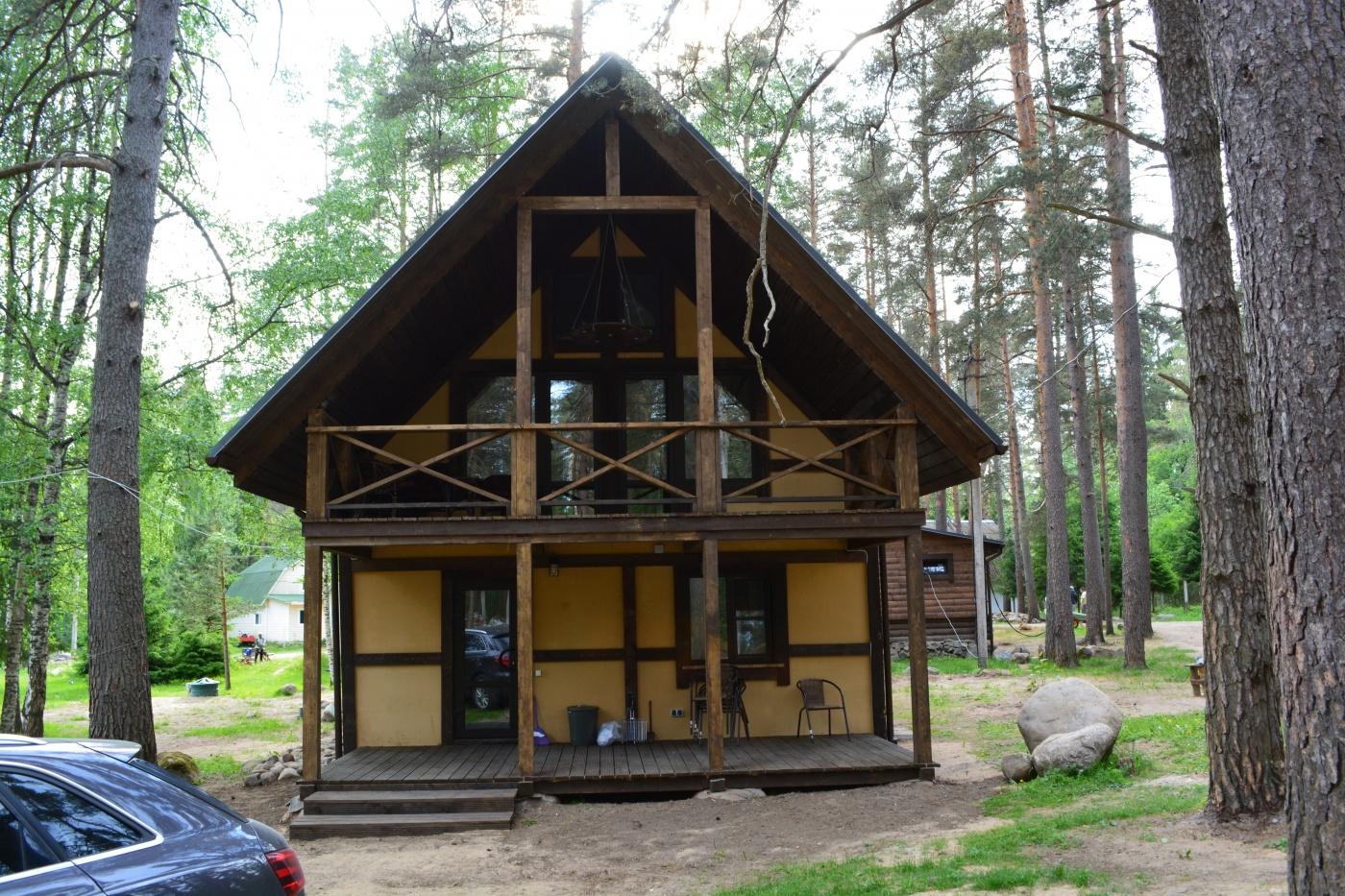 База отдыха «Вуокса-Хутор» Ленинградская область Вилла «Люкс», фото 1