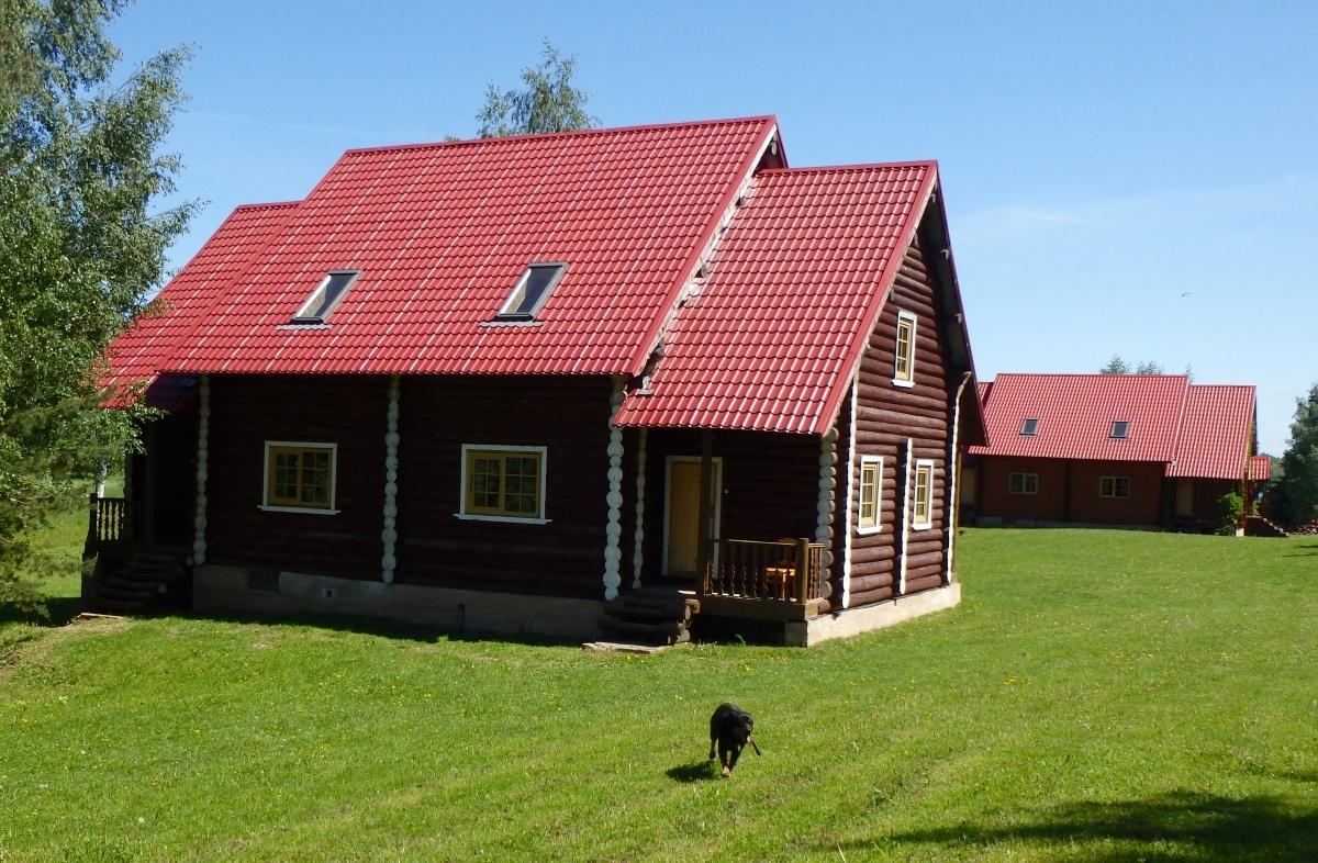 База отдыха «Константинова Усадьба» Новгородская область 4-местный номер в бревенчатом доме, фото 1