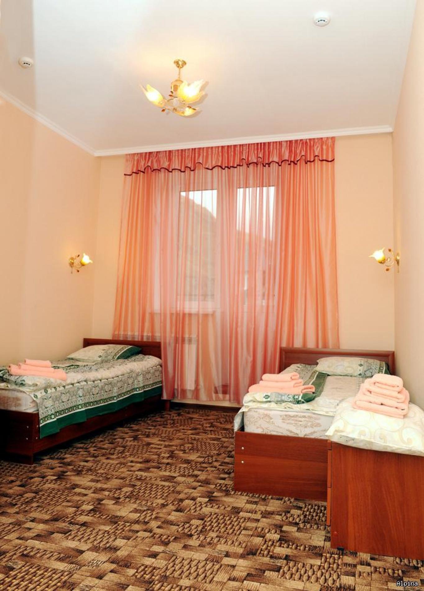 """Парк-отель """"Alpina"""" Кабардино-Балкарская Республика 2-х местный номер Эконом, фото 1"""