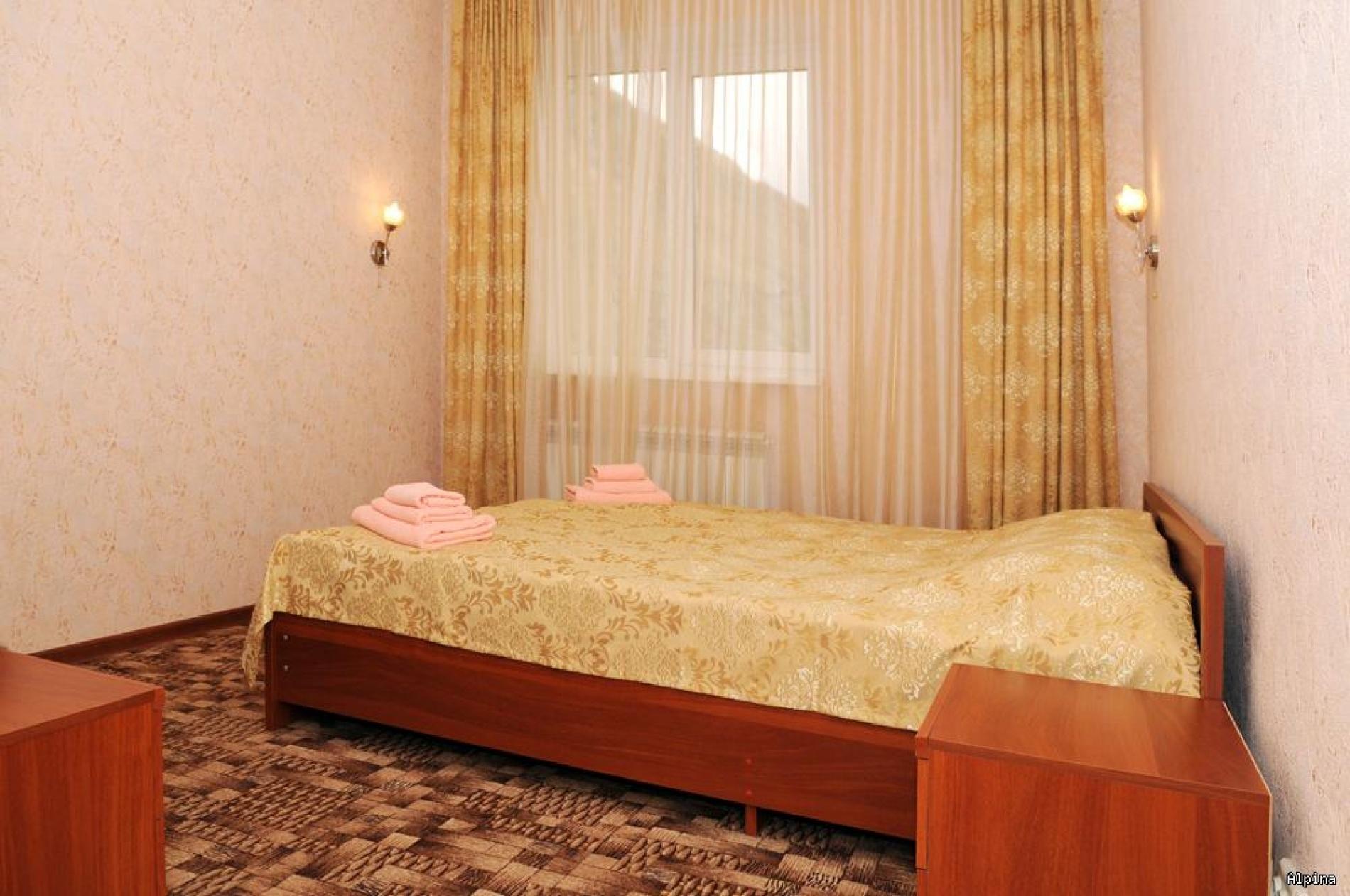"""Парк-отель """"Alpina"""" Кабардино-Балкарская Республика Номер Люкс 3-х комнатный, фото 2"""