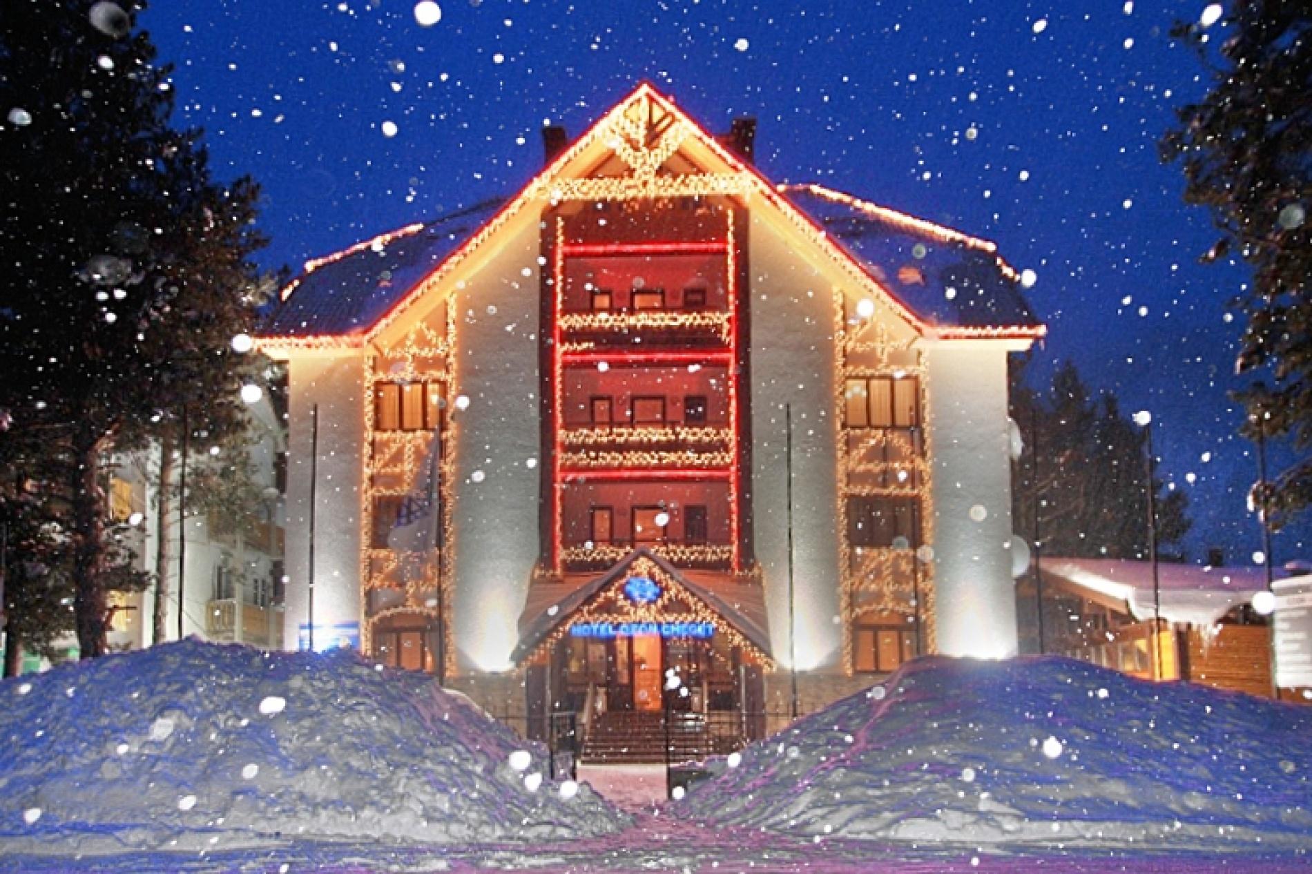 """Парк-отель """"Ozon Cheget"""" Кабардино-Балкарская Республика, фото 1"""
