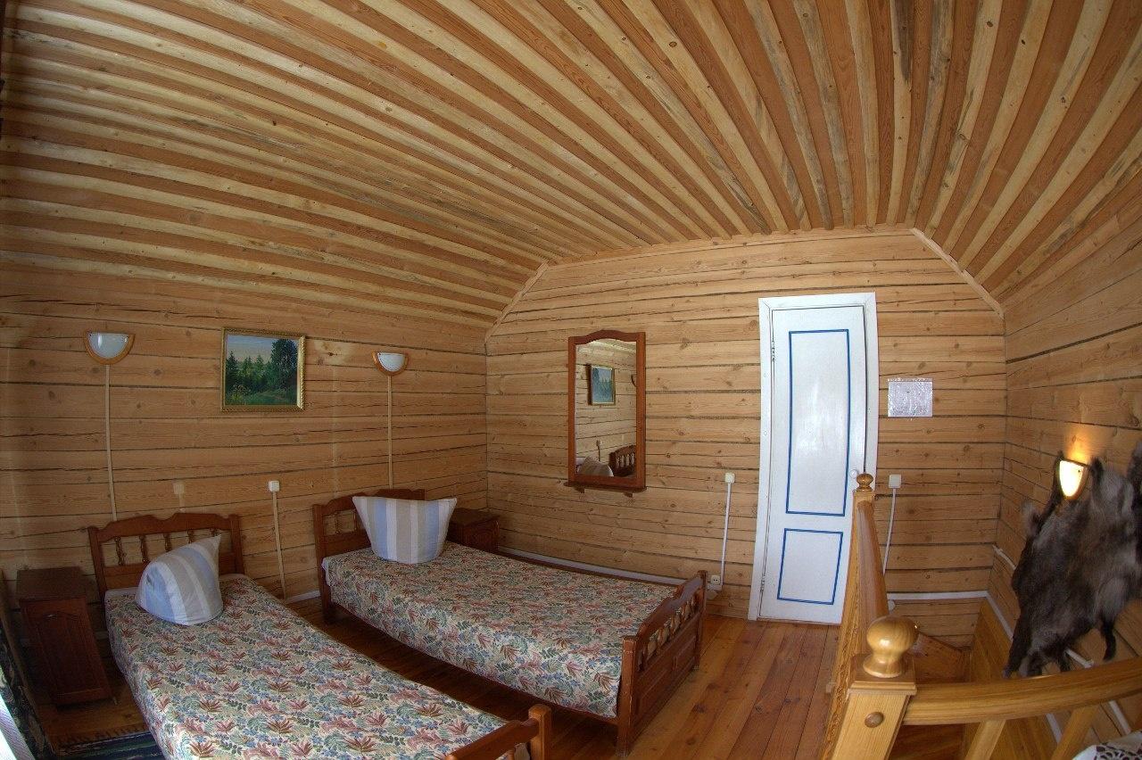 Лесной отель «Голубино» Архангельская область 2-местный коттедж, фото 4