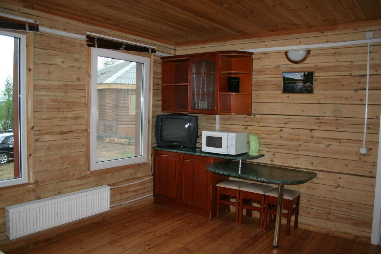 Лесной отель «Голубино» Архангельская область 2-местный коттедж, фото 8
