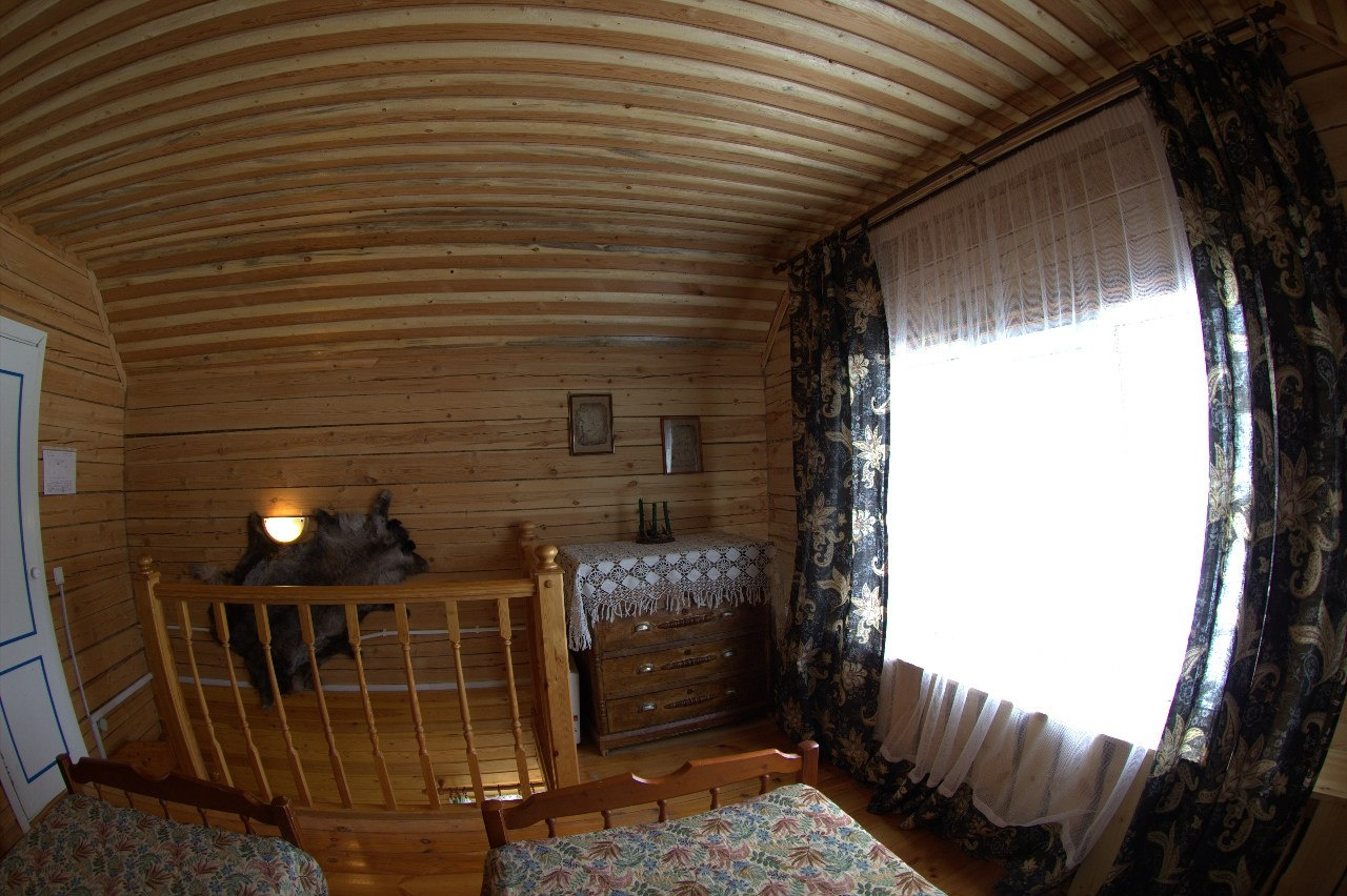 Лесной отель «Голубино» Архангельская область 4-местный коттедж, фото 6