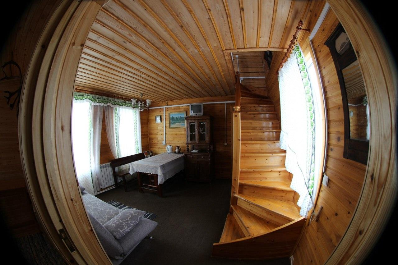 Лесной отель «Голубино» Архангельская область 4-местный коттедж, фото 4