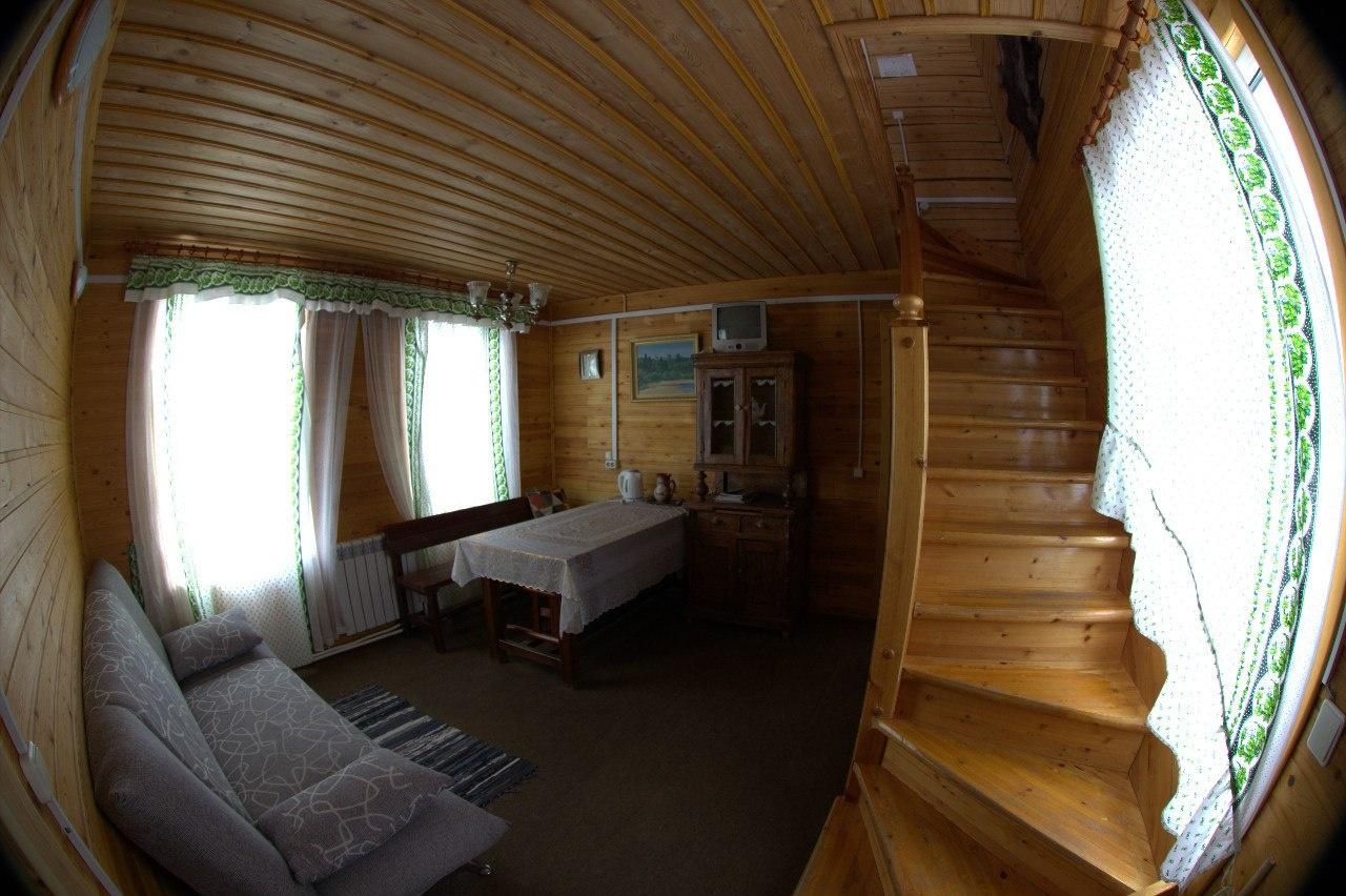 Лесной отель «Голубино» Архангельская область 4-местный коттедж, фото 5